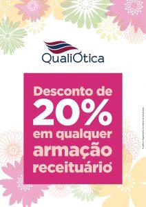 DESCONTO DE 20% NA COMPRA DE QUALQUER ARMAÇÃO DE RECEITUÁRIO. 2693f124a9